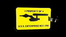 "Star Trek Kofferanhänger ""Property of U.S.S. Enterprise NCC-1701"""