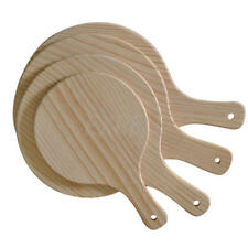 NEW Pizza Peel Poplar Wood Paddle Style Lifter Serve Cutting Board Platter Home