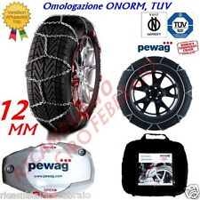 Catene Neve 12mm Pewag ServoSuv Great Wall Motor Hover gomma 245/70R16 RSV80