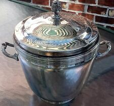 Vintage Sheffield Silver Plated Ice Bucket with Insert