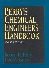Perry's Chemical Engineers' Handbook by Robert H Perry