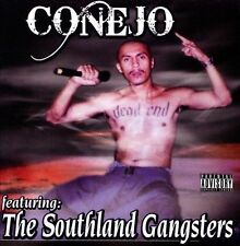 Chicano Rap CD CONEJO featuring the Southland Gangsters - Malow Mac Frank V