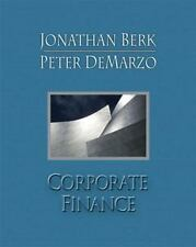Corporate Finance by Peter DeMarzo and Jonathan Berk (2006, Hardcover)