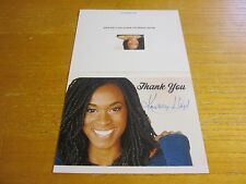 "Kristolyn Lloyd Autographed 5.5X8.5 Greeting Card ""The Bold and the Beautiful"""