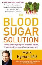 THE BLOOD SUGAR SOLUTION by Mark Hyman Hardcover book FREE SHIPPING weight loss