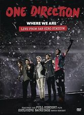 ONE DIRECTION - WHERE WE ARE: LIVE FROM SAN SIRO STADIUM  DVD NEU