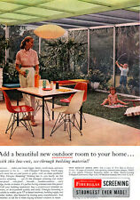 Charles Eames Chair Mid-Century Modern GEORGE NELSON BUBBLE LAMP 1957 Print Ad