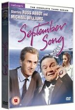 SEPTEMBER SONG the complete third series 3. Russ Abbot. New sealed DVD.