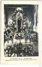 CP 02 Aisne - Rougeries - 12 Août 1928 - Bénédiction Statue de Ste Thérèse - c