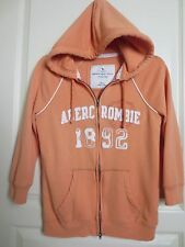 Abercrombie & Fitch Hoddie Full Zip 3/4 Sleeve A&F Woman's Medium