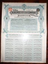 ACTION / THE KOKUMBO / IVORY COAST / COMPANY 1903 /
