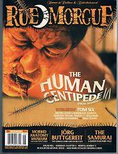Rue Morgue #156 June 2015 Human Centipede Jorg Buttgereit Mortal Kombat X