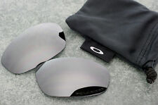 Original Oakley Whisker Wire Black Iridium Polarized Lenses - Genuine Set + Bag