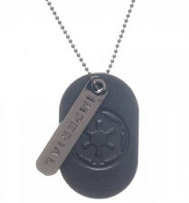 Star Wars Imperial Empire Cog Logo Metal Dog Tag NEW SEALED