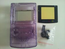 CARCASA COMPLETA+PANTALLA COMPATIBLE GAME BOY COLOR NEW/NUEVO-4