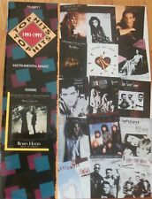 Top Hits 1991-1992 for Trumpet Music Book (Bryan Adams Phil Collins Bolton