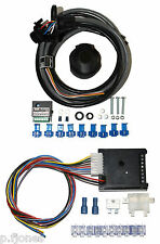 Universal 13 Pin Towing Electrics / Towbar Wiring + 7 Way Bypass Relay Kit