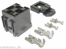 kfz Fassung für MAXI Relais car relay socket Maxirelais 9,5 6,3 MTA LKW Sockel