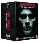 SONS OF ANARCHY COMPLETE SERIES 1 2 3 4 5 6 7 DVD Box Set All Season Episodes UK