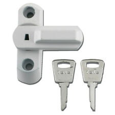 Yale 8K103 Sash Jammers Stoppers for UPVC Doors & Windows with Lock White
