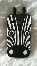 Silicone Cover per cellulari ZEBRA para SAMSUNG GALAXY CORE PLUS G350