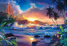 De Pared Gigante Mural Foto Wallpaper 366x254cm Sueño fantasía Tropical Beach Scene