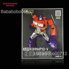 Transformers KBB MP10-V Optimus Prime mini Metal Part ACTION FIGURE toy instock