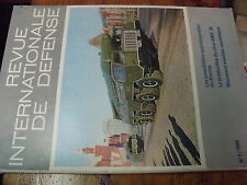 ?ù? Revue Internationale de Defense n°1 1968 Force nucleaire Russe / M109 AMX30