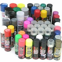 Black White Silver Red Yellow Purple Primer Neon Glitter Gloss Matt Spray Paint