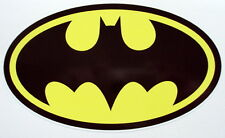 Batman Color pegatina de vinilo, Para El Coche, Pared, Laptop, Ipad (15,5 X 9cms)