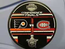 2010 Stanley Cup Playoffs Dueling Puck Montreal Canadiens / Philadelphia Flyers