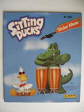 """Panini Sammelbilderalbum """"Sitting Ducks"""", komplett mit allen Bildern und Poster"""