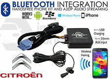 CITROEN C5 pre2004 carte bluetooth les appels mains libres streaming ctactbt001 iPhone