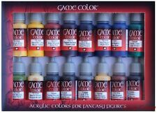 AV Vallejo Game Colour Set Advanced Set 16 x 17ml 72296