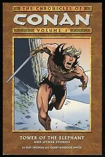 Chronicles of Conan Vol 1 Tower of the Elephant Trade Paperback TPB Barry Smith
