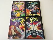 Pokémon the First Movie Mewtwo Returns 2000 & Pokemon 3 (4 DVD LOT) FREE US SHIP