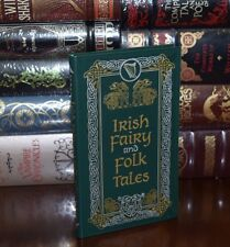 Irish Fairy and Folk Tales Brand New Leather Bound Gift Edition Collectible Book