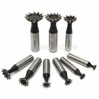 10-35mm 45 Degree Premium HSS Dovetail Cutter End Mill Milling High Speed Steel