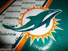 Miami Dolphins Team Logo Glass Cutting Board with Acrylic Display Stands