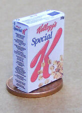 1:12 Scale Empty Special K Cereal Packet Dolls House Miniature Food Accessory