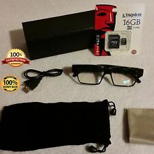 16GB HD 1080p Video Recording Evidence Gathering Hidden Camera Glasses FBI CIA 1