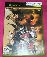 METAL SLUG 4 XBOX VERSION 100% FRANCAISE EXCELLENT ETAT