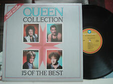QUEEN Collection 15 Of The Best NM- WARNER SPECIAL LP w/Poster & Embossed Cover