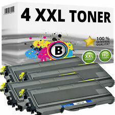 4x TONER für BROTHER HL-2140 2150N 2170W DCP 7030 7040 MFC 7320 7340 7440N 7840W