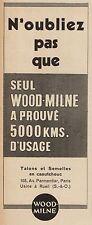 Y8692 Talons et Semelles WOOD-MILNE - Pubblicità d'epoca - 1936 Old advertising