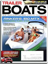 Trailer Boats - 2010, December - Rinker's 190 MTX, Freshwater Fishing Values!