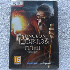DUNGEON LORDS MMXII PC DVD-ROM NEW SEALED FAST POST ( fantasy/action RPG game )