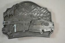 Siskiyou 1987 Buckle Co.Inc William Oregon Made In USA RV Travel Belt Buckle