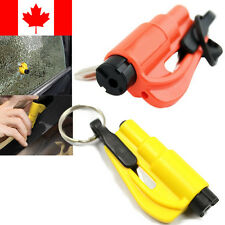 Car Glass Breaker Hammer Emergency Tool Safety Window Escape Rescue Keychain