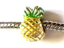 PINEAPPLE BEAD CHARM FITS EUROPEAN BRACELETS - BUY 3 GET 1 FREE